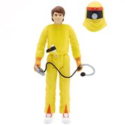 Back to the Future Marty McFly in Radiation Suit 3 3/4-Inch ReAction Figure