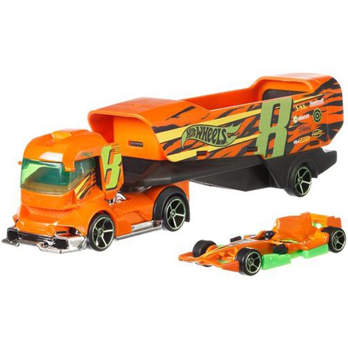 Hot Wheels Super Hauling Rig and Car 2020 Mix 3 Case