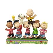 Peanuts Gang A Grand Celebration Statue by Jim Shore