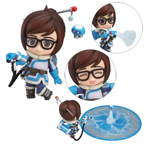 Overwatch Mei Classic Skin Edition Nendoroid Action Figure