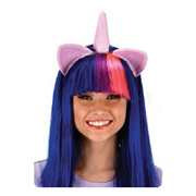 My Little Pony Friendship is Magic Twilight Sparkle Wig with Ears