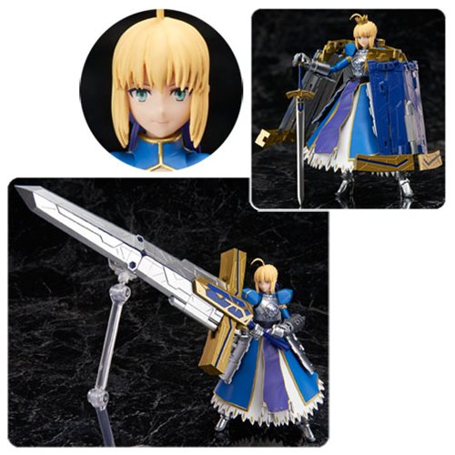 Fate/Grand Order Saber Arturia Pendragon & Variable Excalibur Armor Action Figure