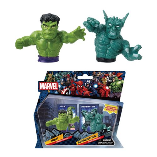 Marvel Hulk Vs. Abomination Finger Fighter 2-Pack Set #4