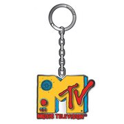 MTV Logo 2 1/2-Inch Enamel Key Chain