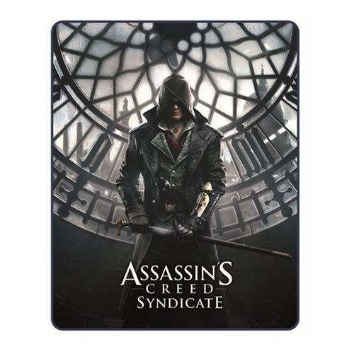 Assassin's Creed Syndicate Sherpa Fleece Blanket