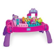 Mega Bloks Build and Learn Table Pink