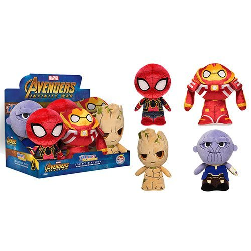 Avengers: Infinity War SuperCute Plush Display Case
