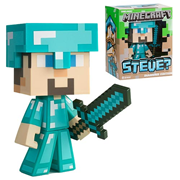 Minecraft Diamond Steve 6-Inch Vinyl Figure