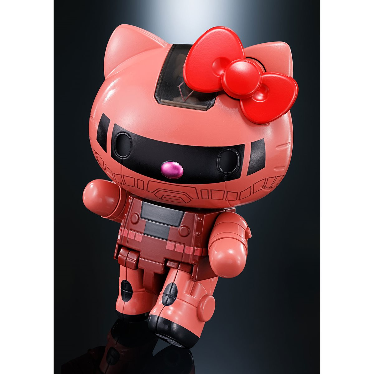 Bandai Tamashii Nations Gundam Char/'s Zaku II x Hello Kitty Chogokin Figure
