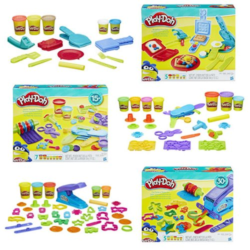 Play-Doh Tools and Playsets Packs Wave 1