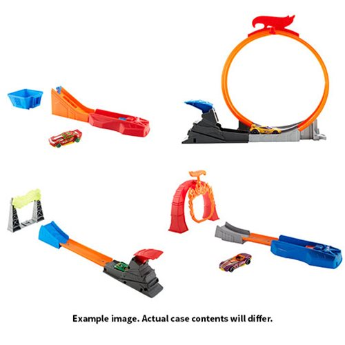 Hot Wheels Classic Stunt Track Case