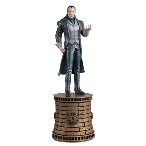 Marvel Morlun Black Bishop Chess Piece with Collector Magazine