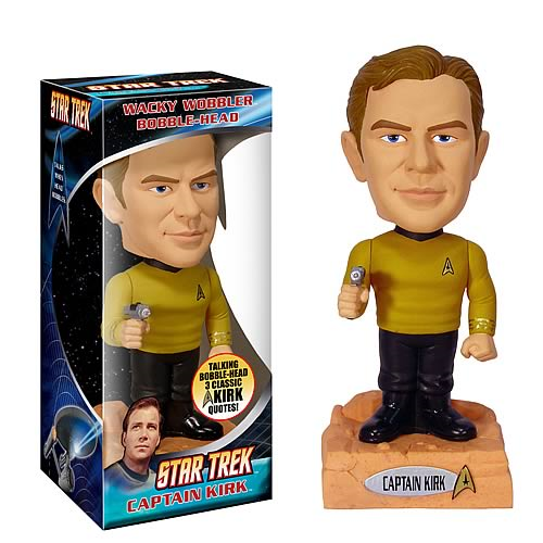 Star Trek Captain Kirk Talking Bobble Head