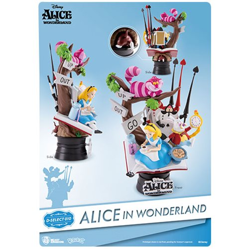 Alice in Wonderland DS-010 Dream Select Series 6-Inch Statue - Previews Exclusive