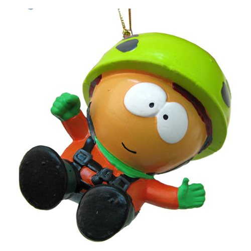 South Park Kyle Climber Gear Blow Mold Figural Ornament, Not Mint