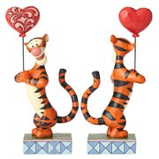 Disney Traditions Winnie the Pooh Tigger with Heart Balloon Heartstrings Statue