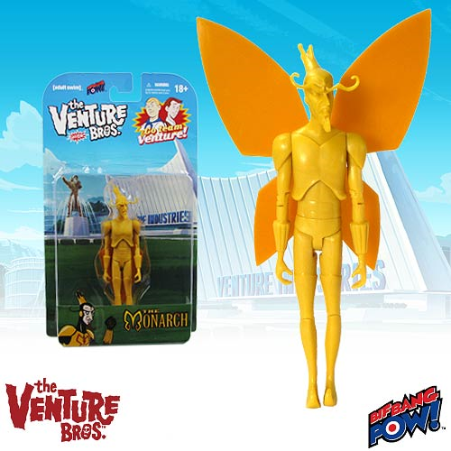 Entertainment Earth Exclusive Venture Bros. the Monarch Unpainted Test Shot 3 3/4-Inch Action Figure