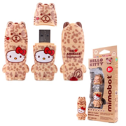 Hello Kitty Leopard Mimobot USB Flash Drive