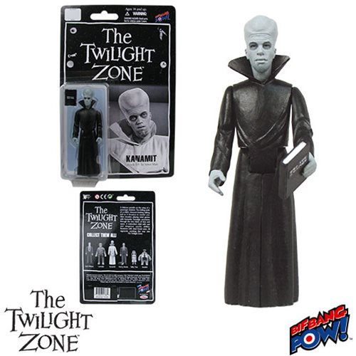 The Twilight Zone Kanamit In Work Uniform 3 3/4-Inch Action Figure Series 1