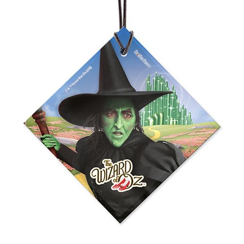 Wizard of Oz Wicked Witch StarFire Prints Hanging Glass Ornament