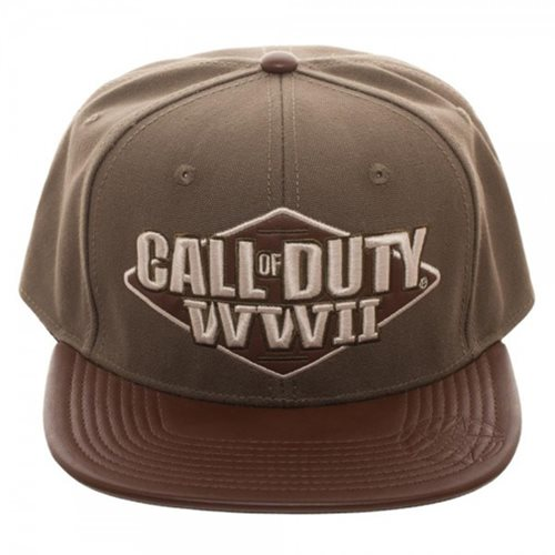 Call of Duty: WWII 3D Embroidered Snapback Hat