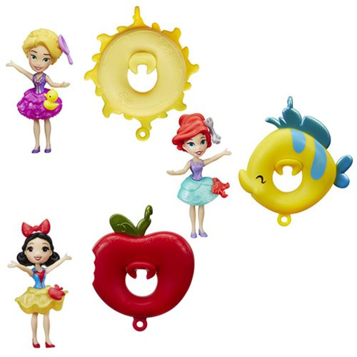 Disney Princess Floating Cutie Small Water Dolls Wave 1