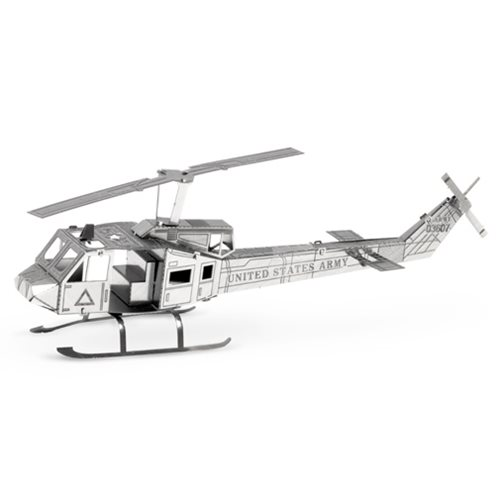 Huey UH-1 Helicopter Metal Earth Model Kit