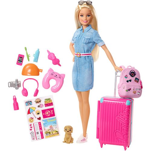 Barbie Travel Doll and Accessories