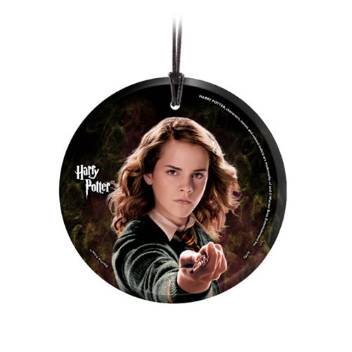 Harry Potter Hermione StarFire Prints Hanging Glass Ornament