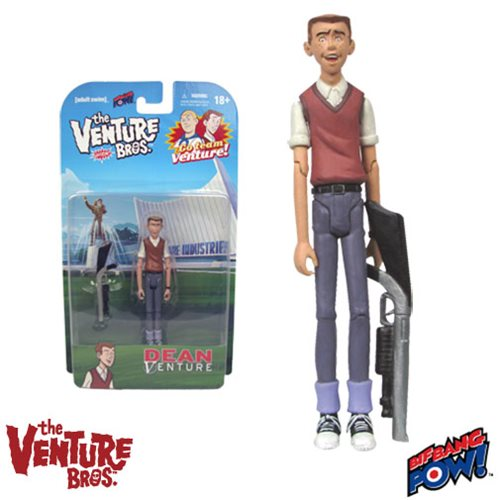 The Venture Bros. Dean Venture 3 3/4-Inch Action Figure