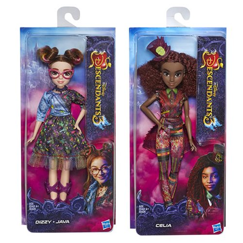 Disney Descendants D3 Movie Basic Dolls Wave 1 Set