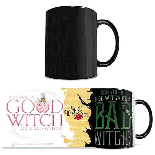 Wizard of Oz Good Witch Bad Witch Morphing Mug