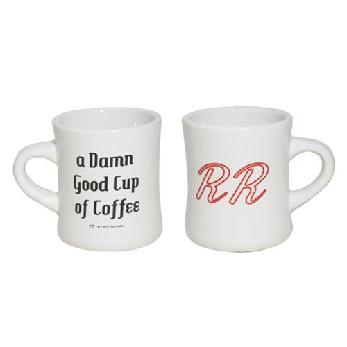 Twin Peaks Damn Good Coffee Double RR Mug