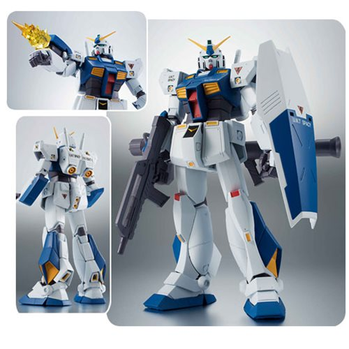 Mobile Suit Gundam 0080 War In The Pocket Gundam NT-1 Alex Ver. A.N.I.M.E. Bandai Robot Spirits Action Figure
