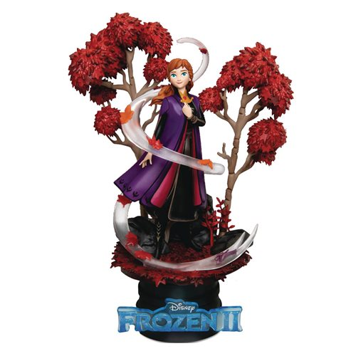 Disney Frozen 2 Anna DS-039 D-Stage 6-Inch Statue - Previews Exclusive