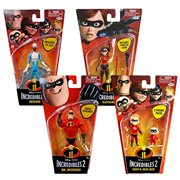 Incredibles 2 Basic Figures 4-Inch Wave 1 Case
