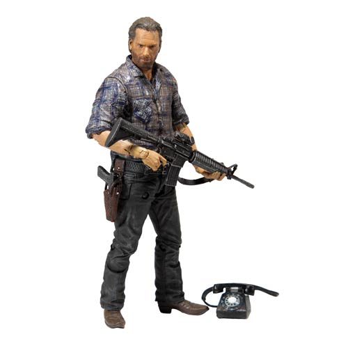 The Walking Dead TV Series 7.5 Rick Grimes Action Figure