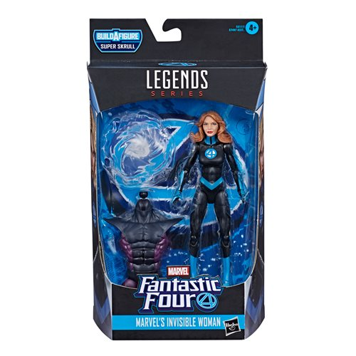 Fantastic Four Marvel Legends Invisible Woman 6-Inch Action Figure