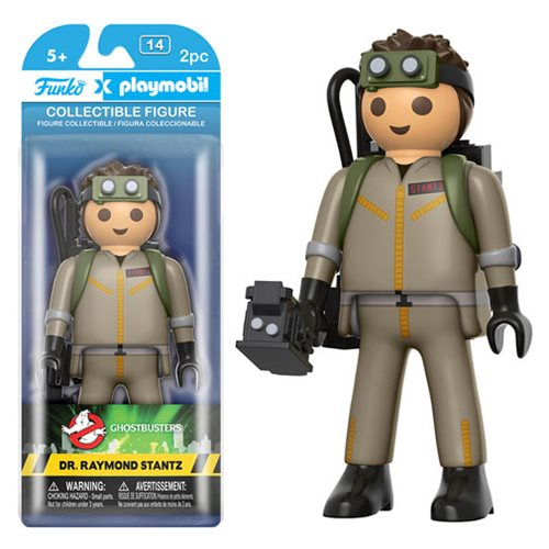 Ghostbusters Dr. Raymond Stantz 6-Inch Playmobil Action Figure