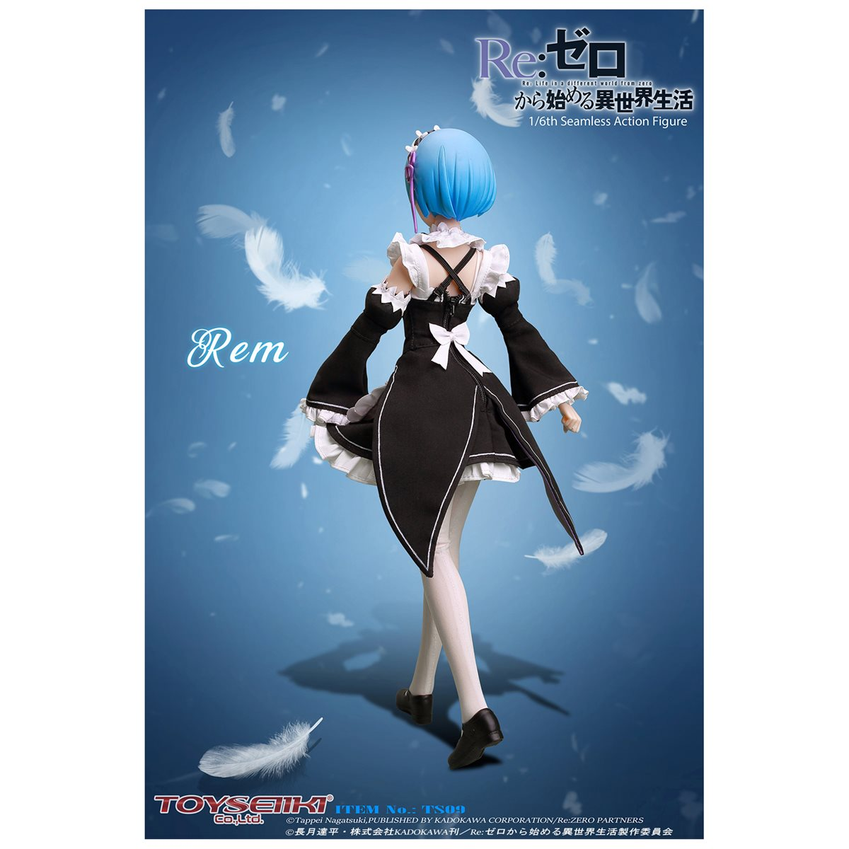 Re:ZERO Starting Life in Another World-Rem 1:6 Seamless Action Figure* PREORDER*