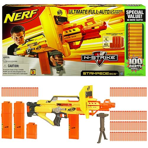 Nerf N-Strike Stampede ECS-50 Value Pack