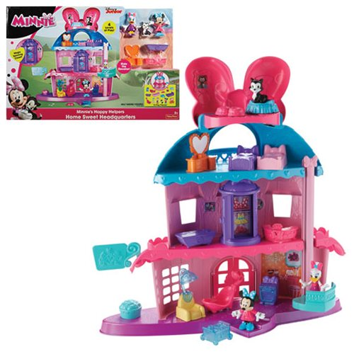Minnie Mouse Home Sweet Headquarters Playset