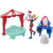 DC Super Hero Girls Harley Quinn Bedroom Playset