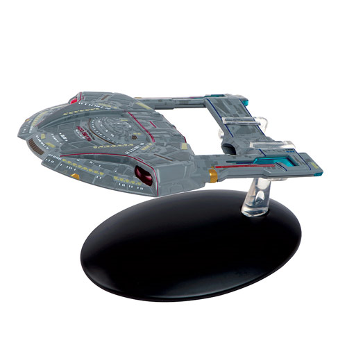 Star Trek Starships Steamrunner Class Die-Cast Metal Vehicle with Collector Magazine