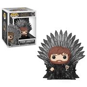Game of Thrones Tyrion Lannister Sitting on Throne Deluxe Pop! Vinyl Figure