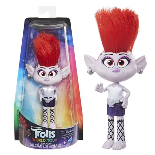 Trolls World Tour Fashion Stylin' Barb Doll