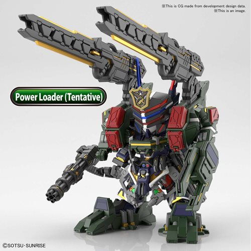 SD Gundam World Heroes 12 Sergeant Verde Buster Gundam DX Set Model Kit