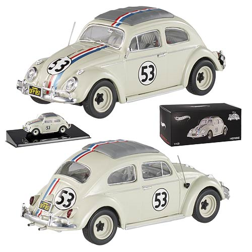 Herbie Hot Wheels Elite 1:43 Scale 1962 Volkswagen