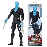 Ultimate Spider-Man Titan Heroes Electro Figure, Not Mint