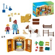 Playmobil 5660 Pony Stable Play Box
